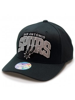 San Antonio Spurs NBA Aframe Mitchell & Ness black Cap