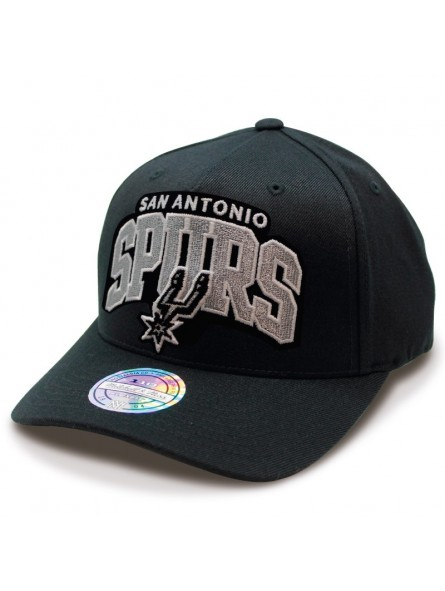 big sale 6bc8c daa05 Gorra San Antonio Spurs NBA Aframe Mitchell   Ness negro