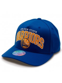 Golden State Warriors NBA Aframe Mitchell & Ness royal Cap