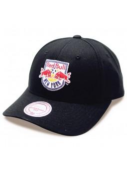 Gorra Red Bull New York Intl228 Mitchell & Ness negro