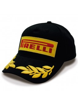 Gorra Pirelli negro