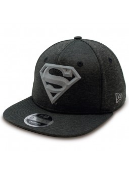 Superhero Superman Concrete Jersey 9Fifty New Era gray Cap