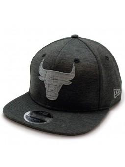 Gorra Chicago Bulls NBA Concrete Jersey 9Fifty New Era gris