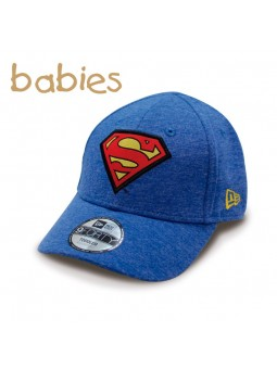 Baby Cap Superman Character Jersey New Era blue