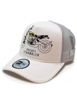 Cap DUCATI 9FORTY SCRAMBLER New Era White
