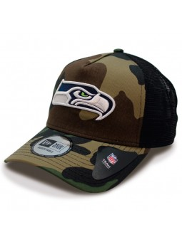 Cap Seattle SEAHAWKS Team Mesh NFL New Era