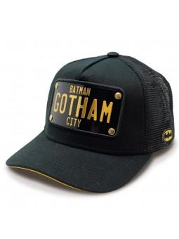 Gorra BATMAN negro de rejilla