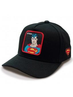 SUPERMAN royal/black trucker Cap