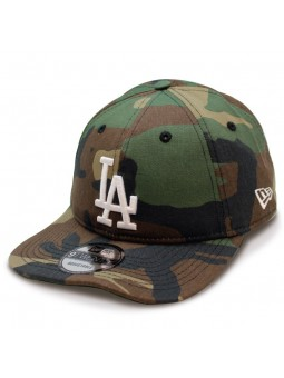 Gorra Los Angeles Dodgers Packable / Plegable New Era camuflaje oliva