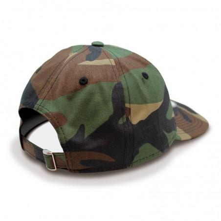 Gorra Los Angeles Dodgers Packable / Plegable New Era camuflaje oliva