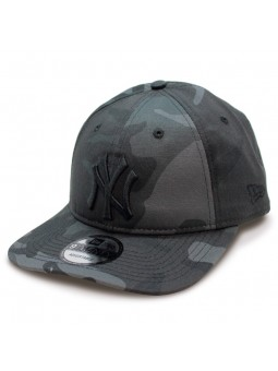 Gorra New York Yankees Packable / Plegable New Era camuflaje negro