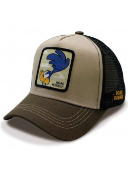 ROAD RUNNER Looney Tunes Camel/black Trucker Cap