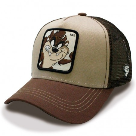 TAZ Looney Tunes camel/brown Trucker Cap