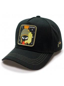 MARVIN the MARTIAN Looney Tunes black Trucker Cap