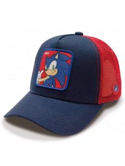 SONIC The Hedgehog navy/red trucker Cap