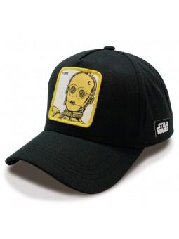 Gorra C-3PO STAR WARS negro