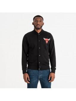 NEW ERA NBA Core Jersey Varsity Chicago BULLS black Jacket