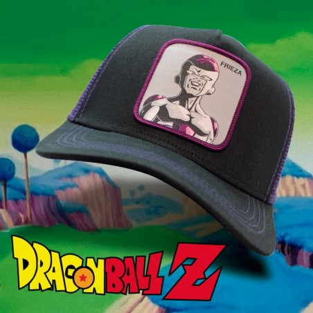 FRIEZA Dragon Ball black/purple trucker Cap
