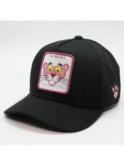 Gorra de la PANTERA ROSA negro
