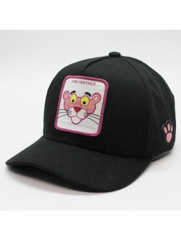 PINK PANTHER black Cap