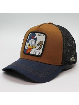 PICSOU brown/navy/black Trucker Cap