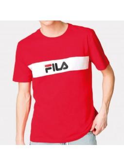 Camiseta FILA Nolan rojo