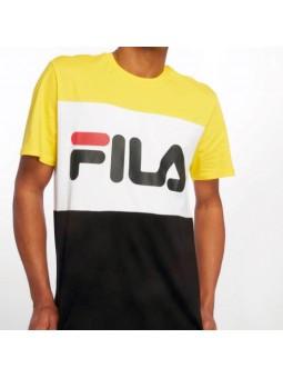Camiseta FILA Day amarillo/blanco/negro