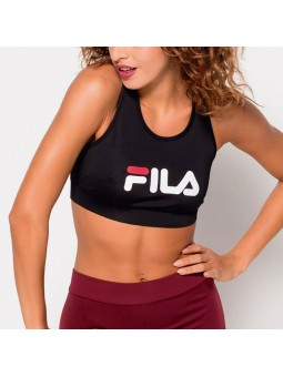 Top de mujer FILA Other crop negro
