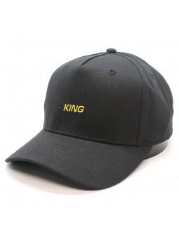 KING Defy curved black Cap