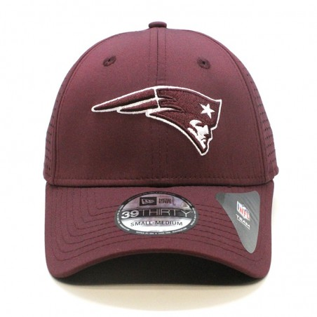 Gorra New England PATRIOTS 39THIRTY Feather perf NFL Team New Era burdeos