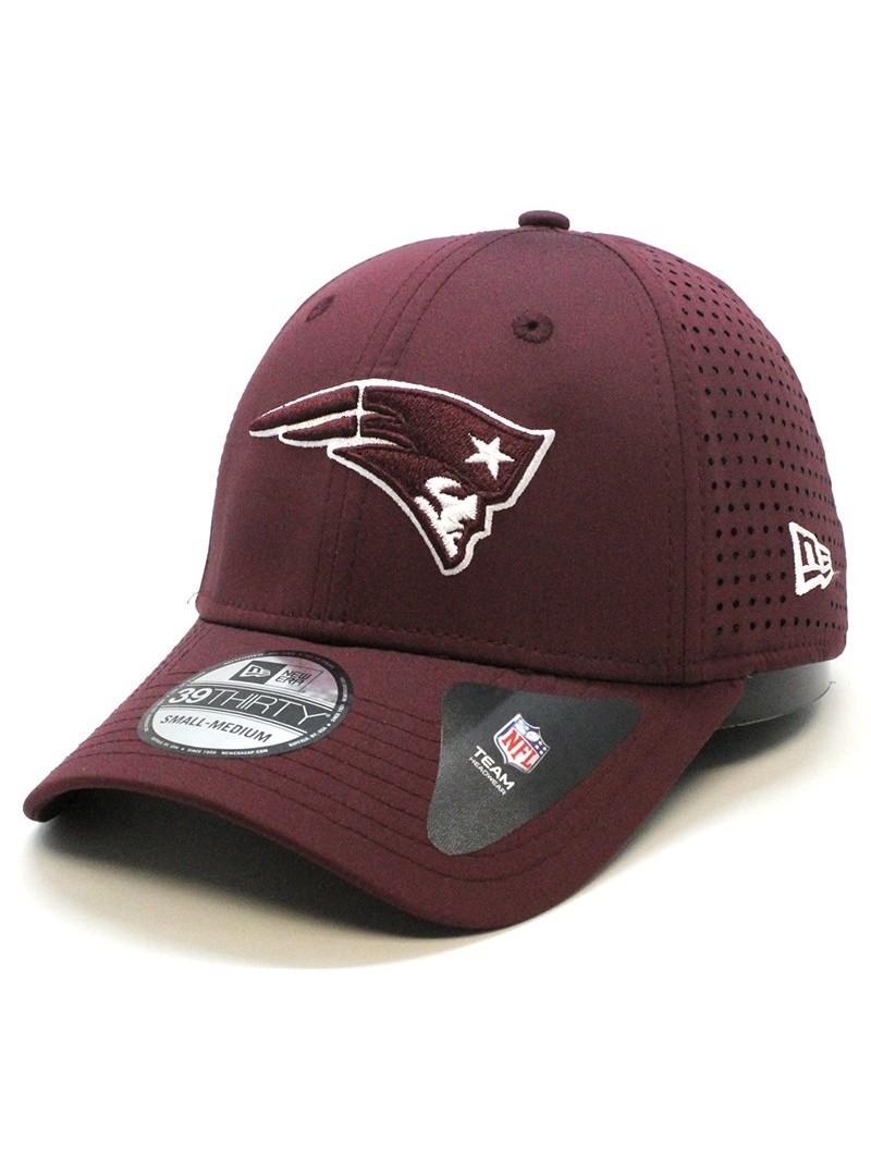 New England PATRIOTS 39THIRTY NFL Feather perf Team New Era maroon Cap