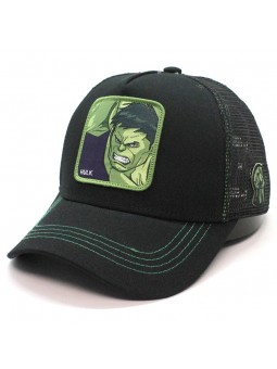 Gorra de rejilla HULK Marvel Avengers negro