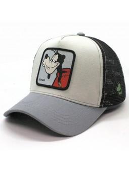 Gorra de de rejilla DINGO (GOOFY) Disney beig/negro/gris
