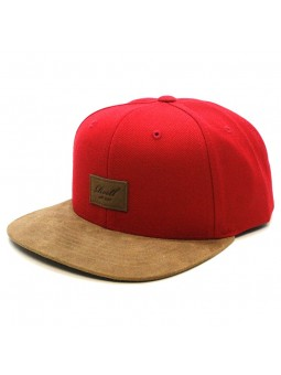 Reell Suede red Cap