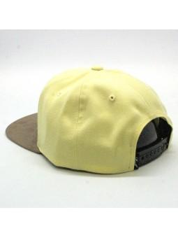 Gorra Reell Suede amarillo
