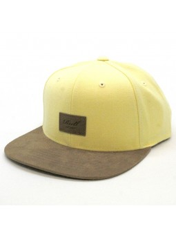 Reell Suede yellow Cap