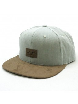 Reell Suede light grey Cap