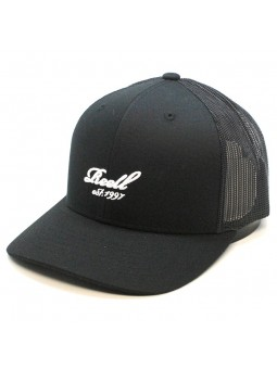 REELL curved trucker black Cap