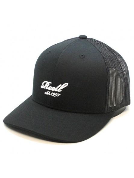 3363335b2d43 Gorra REELL curved trucker negro