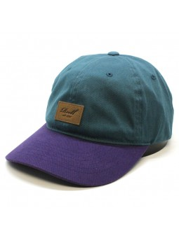 REELL curved tone petrol blue/purple Cap