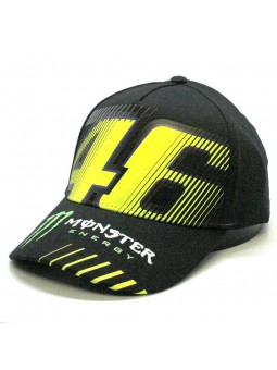 Valentino ROSSI Monster Energy black cap