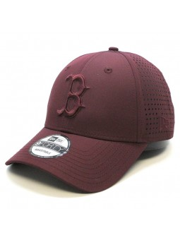 Gorra Boston RED SOX MLB Feather perf 9FORTY New Era maroon