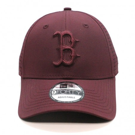 Boston RED SOX MLB Feather perf 9FORTY New Era maroon Cap