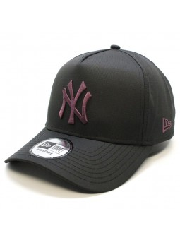 New York YANKEES MLB Ripstop Aframe New Era black Cap