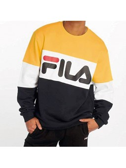 Sudadera FILA Straight blocked amarillo/blanco/negro