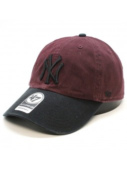 Gorra New York YANKEES Clean up MLB 47 Brand negro/oro