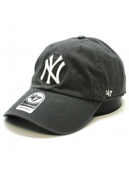 New York YANKEES Clean up MLB 47 Brand charcoal Cap