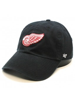Gorra Detroit RED WINGS Clean up NHL 47 Brand negro