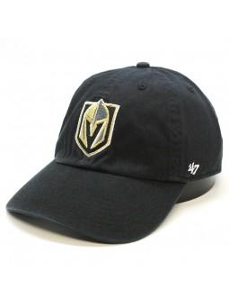 Gorra Vegas GOLDEN KNIGHTS Clean up NHL 47 Brand negro