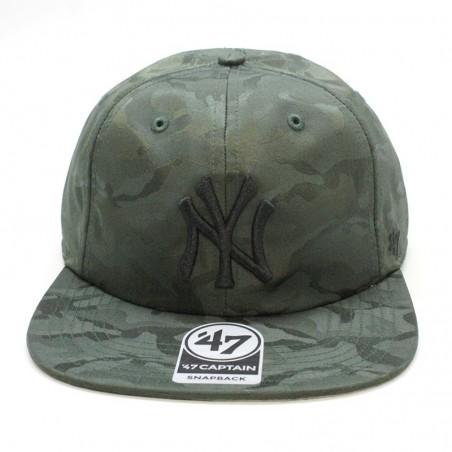 New York YANKEES Snapback MLB 47 Brand camouflage cap